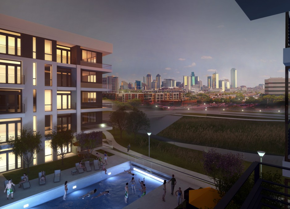 The Strand luxury multifamily complex in Dallas, TX