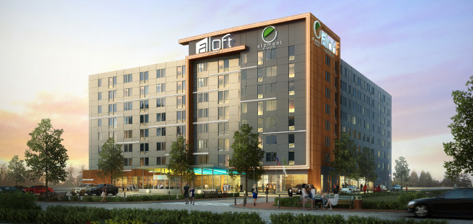 Rendering of Aloft