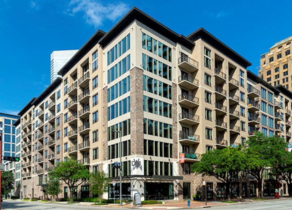 Alexan Downtown located in Houston, Texas