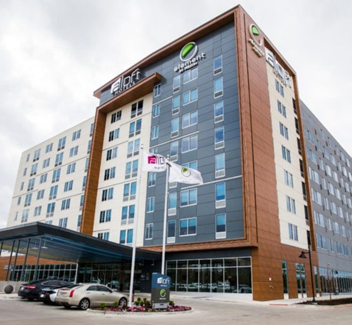 Aloft & Element Hotel Love field Airport