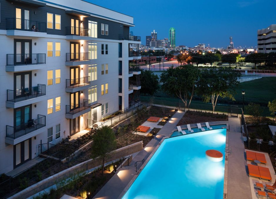 The Strand Luxury multifamily Complex located in Dallas TX