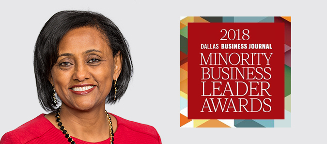 Almaz and the Dallas Business Jounrnal Minority Business Leader Awards