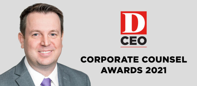 William Dunne Named Finalist for D CEO's 2021 Corporate Counsel Awards